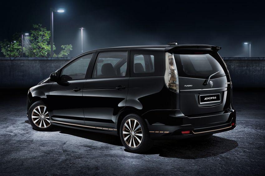 Proton Exora Black Edition tiba di pasaran – RM67,800 Image #1250431