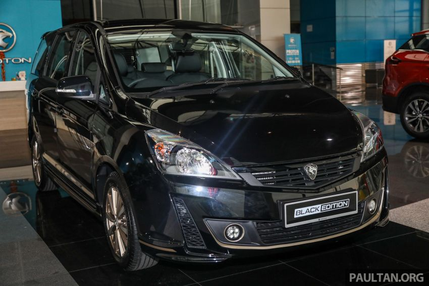 2021 Proton Exora Black Edition launched – RM67,800 Image #1250059