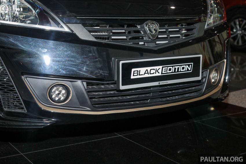 Proton Exora Black Edition tiba di pasaran – RM67,800 Image #1249980