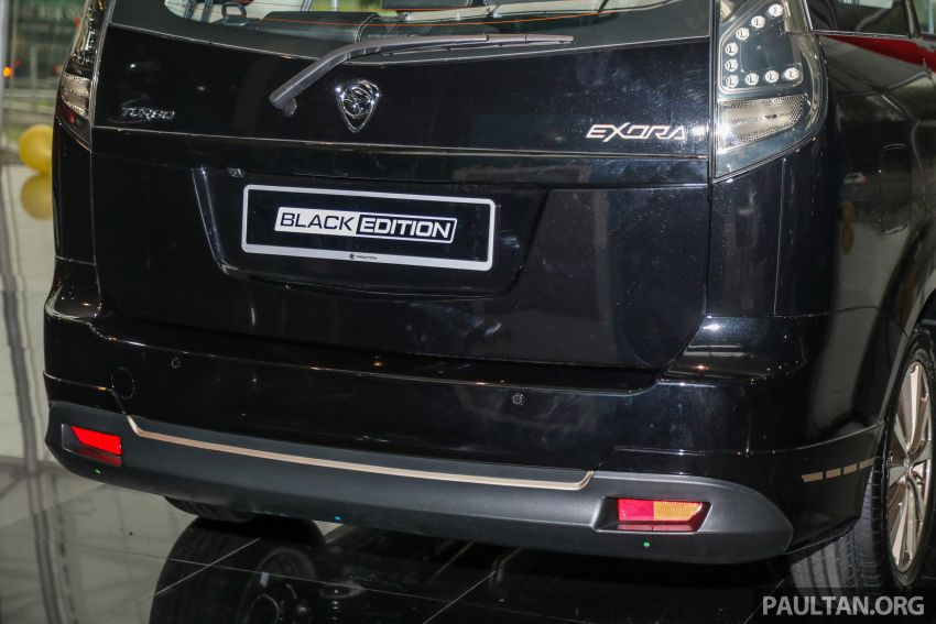 2021 Proton Exora Black Edition launched – RM67,800 Image #1250074