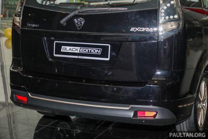 Proton Exora Black Edition tiba di pasaran – RM67,800 Image #1249986