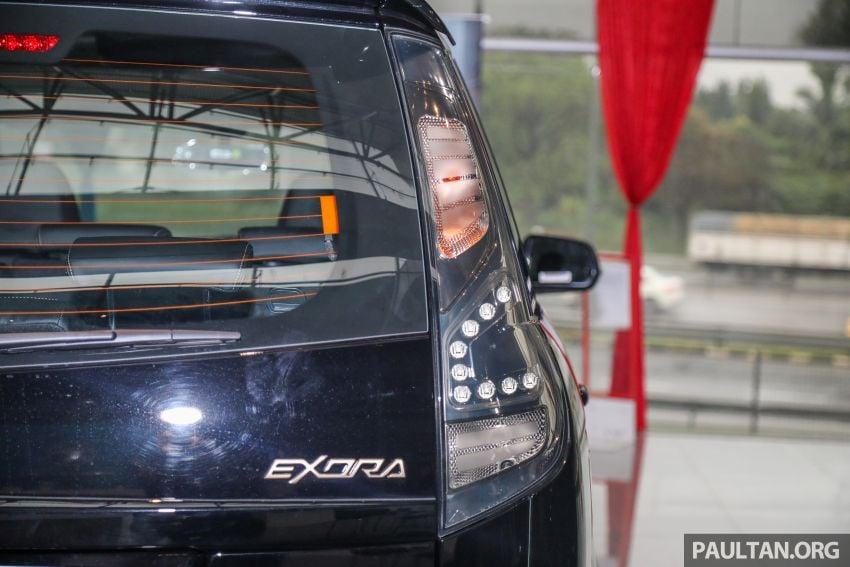 Proton Exora Black Edition tiba di pasaran – RM67,800 Image #1249987