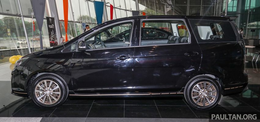 2021 Proton Exora Black Edition launched – RM67,800 Image #1250061