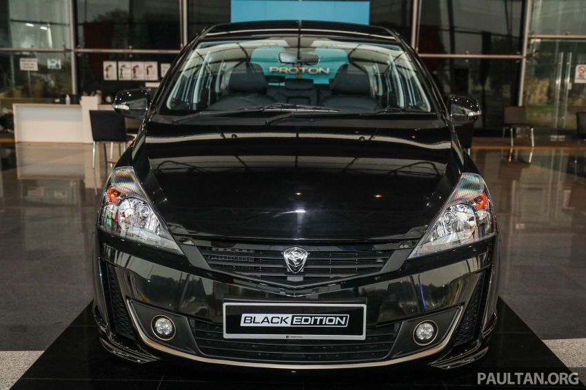 2021 Proton Exora Black Edition launched – RM67,800 Image #1250062
