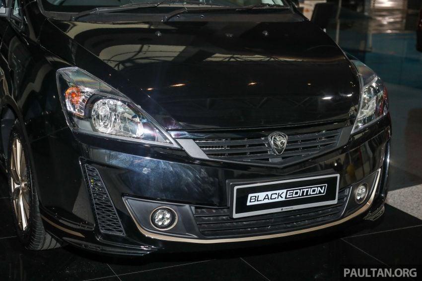 Proton Exora Black Edition tiba di pasaran – RM67,800 Image #1249976