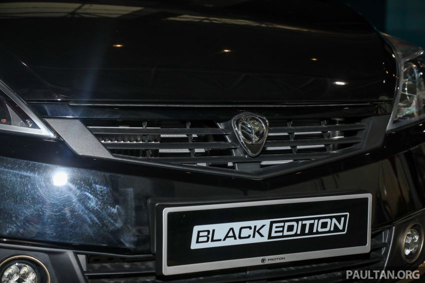 Proton Exora Black Edition tiba di pasaran – RM67,800 Image #1249979