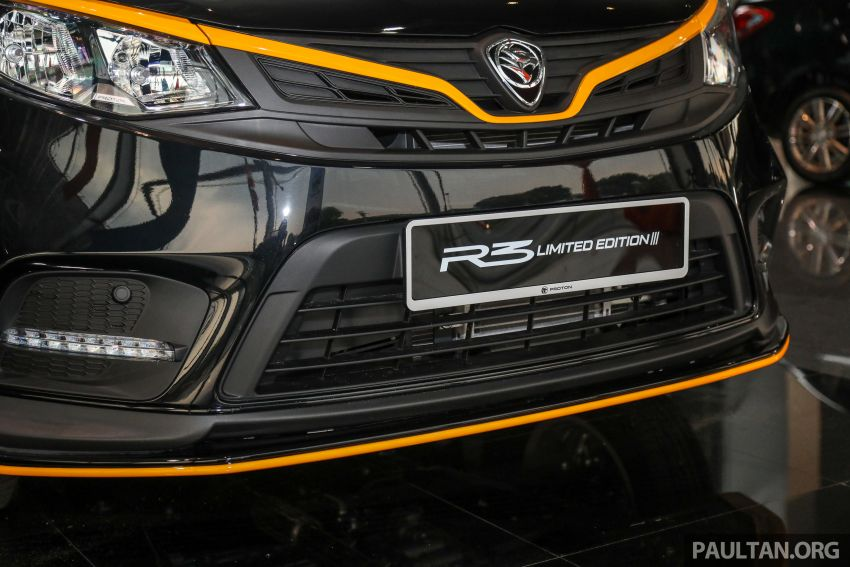2021 Proton Iriz R3 Limited Edition now in Malaysia – 500 units only, R3 decals, 16-inch wheels; RM52,900 Image #1249837