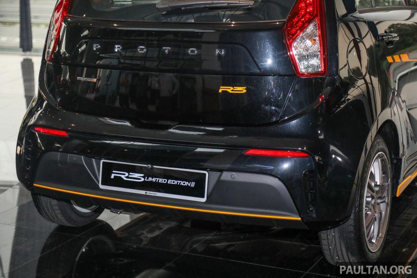 Proton Iriz R3 Limited Edition 2021 dilancar — terhad 500 unit, rim 16-inci, RM52,900 hingga 30 Jun 2021 Image #1249707
