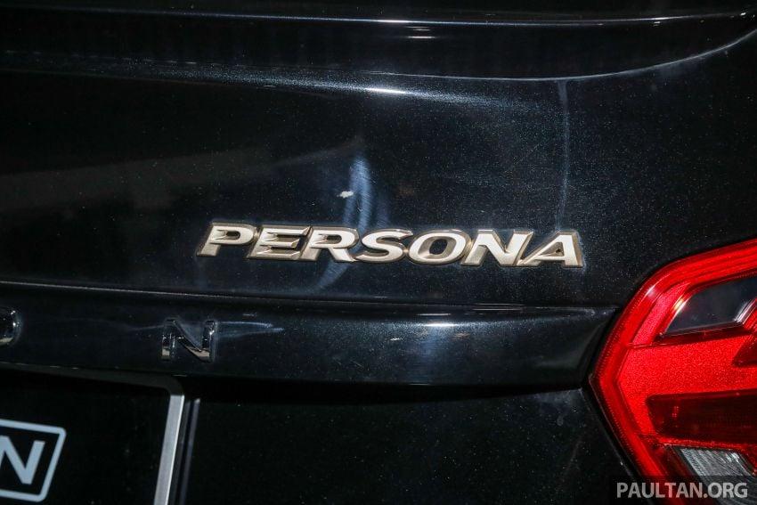 Proton Persona Black Edition dilancarkan – RM54,700 Image #1249762