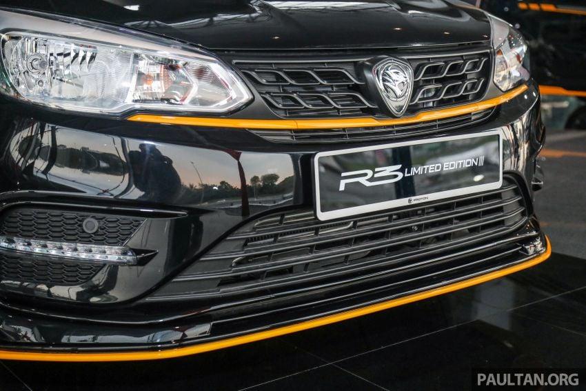 Proton Saga R3 Limited Edition – 2,000 units, RM42k Image #1249809
