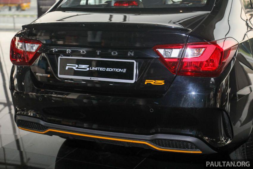 Proton Saga R3 Limited Edition 2021 dilancarkan — edisi terhad 2,000 unit, RM42,300 hingga 30 Jun 2021 Image #1249652