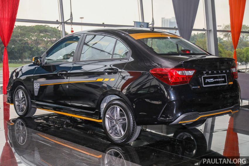 Proton Saga R3 Limited Edition 2021 dilancarkan — edisi terhad 2,000 unit, RM42,300 hingga 30 Jun 2021 Image #1249636
