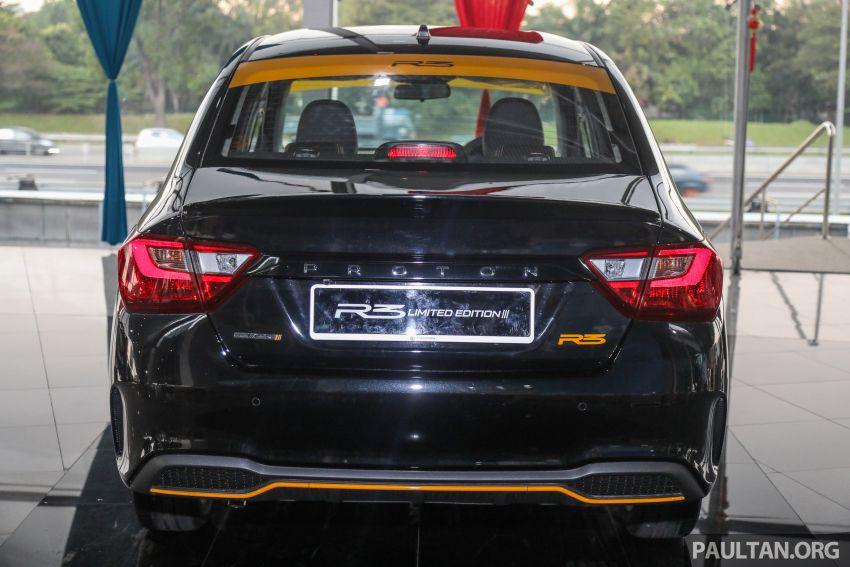 Proton Saga R3 Limited Edition 2021 dilancarkan — edisi terhad 2,000 unit, RM42,300 hingga 30 Jun 2021 Image #1249639
