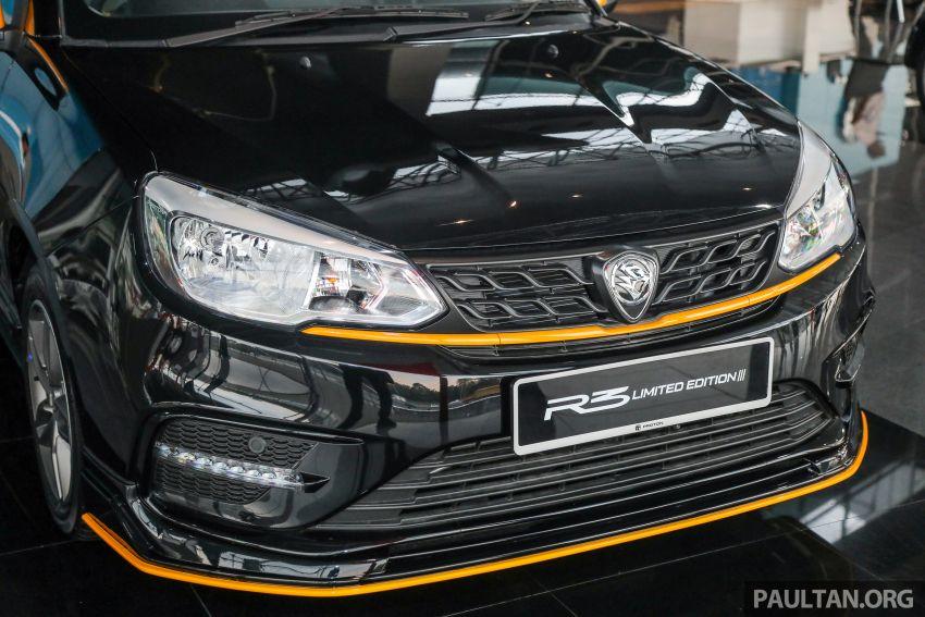 Proton Saga R3 Limited Edition – 2,000 units, RM42k Image #1249805