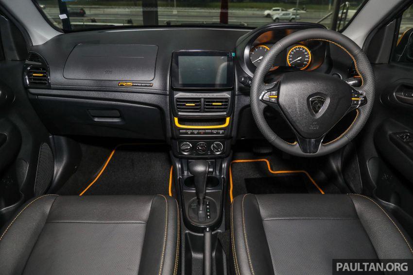 Proton Saga R3 Limited Edition 2021 dilancarkan — edisi terhad 2,000 unit, RM42,300 hingga 30 Jun 2021 Image #1249661