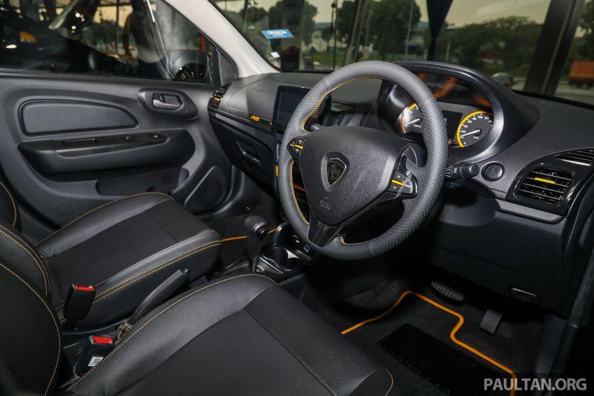 Proton Saga R3 Limited Edition 2021 dilancarkan — edisi terhad 2,000 unit, RM42,300 hingga 30 Jun 2021 Image #1249662