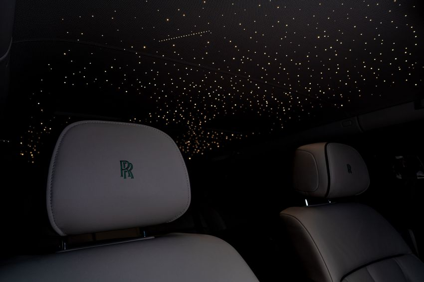 Rolls-Royce Phantom 'Iridescent Opulence' features over 3,000 bird feathers in its dash 'Bespoke Gallery' Image #1243885