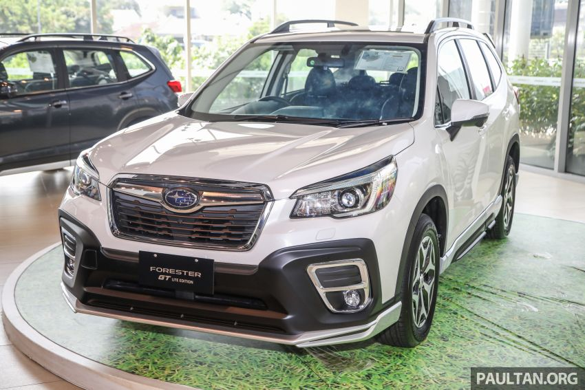 GALLERY: 2021 Subaru Forester 2.0i-L GT Lite Edition Image #1251605