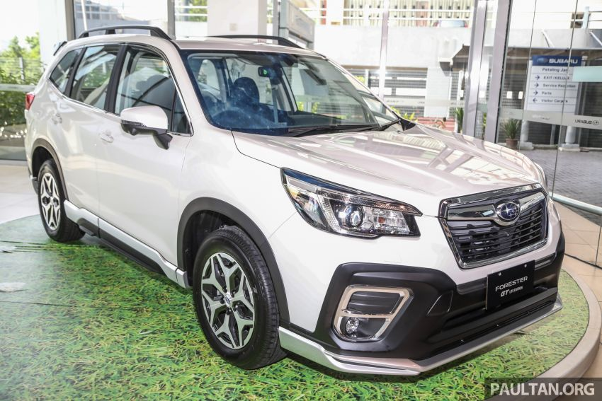 GALLERY: 2021 Subaru Forester 2.0i-L GT Lite Edition Image #1251606