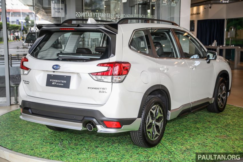 GALLERY: 2021 Subaru Forester 2.0i-L GT Lite Edition Image #1251607