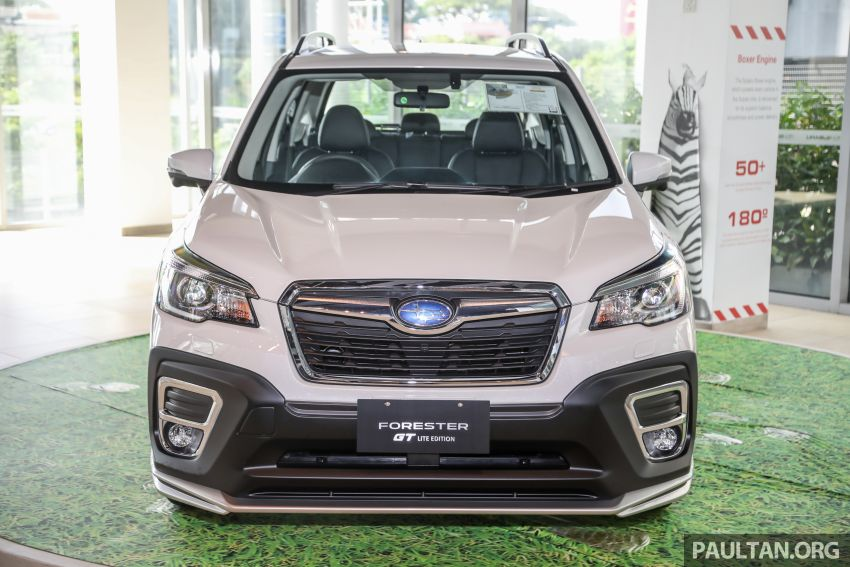 GALLERY: 2021 Subaru Forester 2.0i-L GT Lite Edition Image #1251609