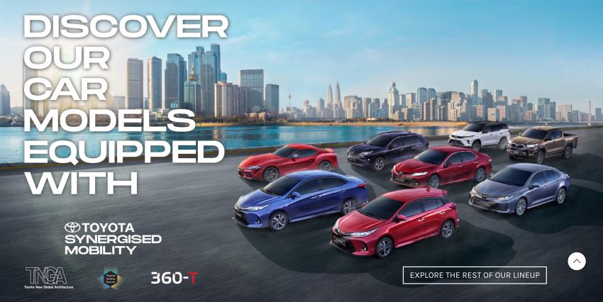 UMW Toyota lancar jenama Toyota Synergised Mobility di Malaysia, beri tumpuan utama terhadap teknologi Image #1243494