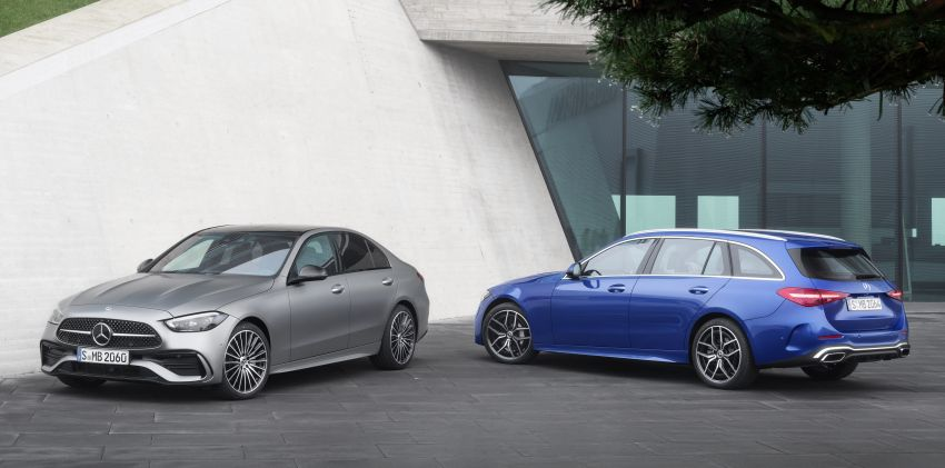 2022 W206 Mercedes-Benz C-Class debuts – tech from S-Class, MBUX, PHEV with 100 km all-electric range Image #1252663