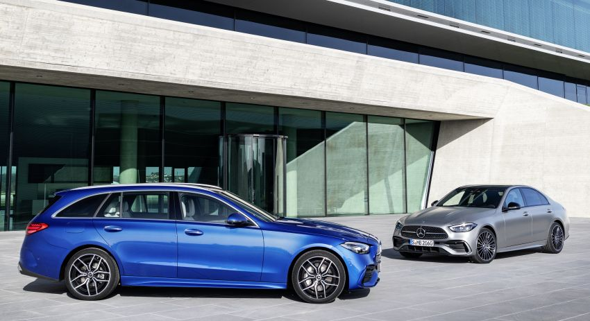 2022 W206 Mercedes-Benz C-Class debuts – tech from S-Class, MBUX, PHEV with 100 km all-electric range Image #1252664