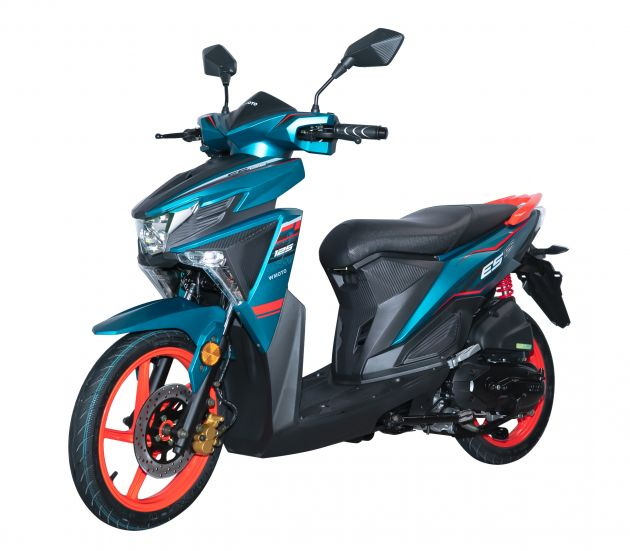 2021 WMoto ES125 scooter launched in Malaysia, from RM4 ...