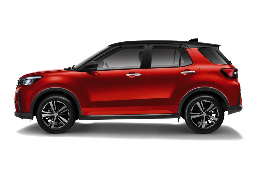 2021 Perodua Ativa SUV launched in Malaysia – X, H, AV specs; 1.0L Turbo CVT; from RM61,500 to RM72k Image #1257648