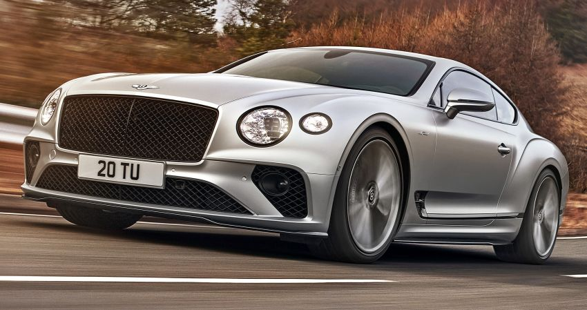 2021 Bentley Continental GT Speed revealed – 659 PS, 0-100 km/h in 3.6 seconds, new rear steering and LSD Image #1267860