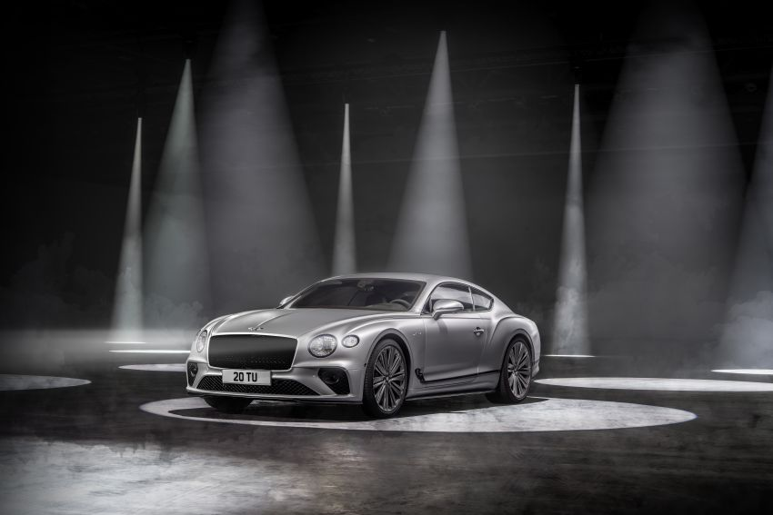 2021 Bentley Continental GT Speed revealed – 659 PS, 0-100 km/h in 3.6 seconds, new rear steering and LSD Image #1267861
