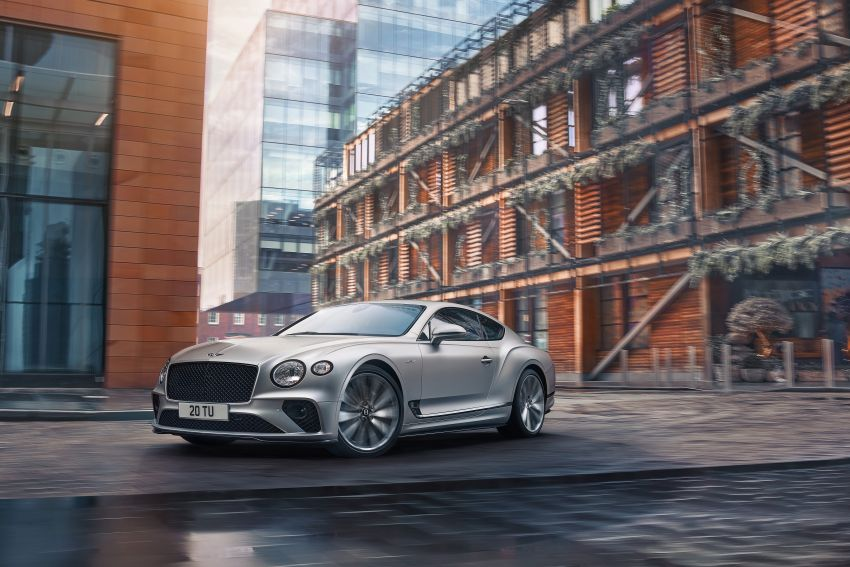2021 Bentley Continental GT Speed revealed – 659 PS, 0-100 km/h in 3.6 seconds, new rear steering and LSD Image #1267886