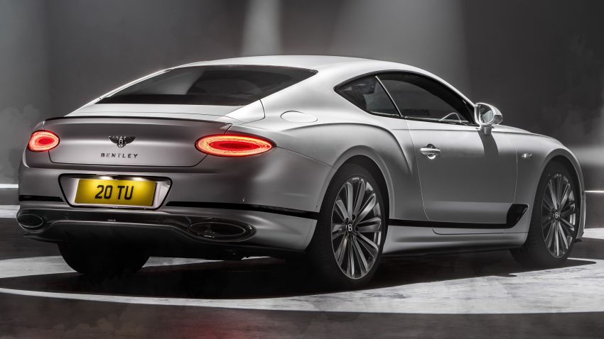2021 Bentley Continental GT Speed revealed – 659 PS, 0-100 km/h in 3.6 seconds, new rear steering and LSD Image #1267862
