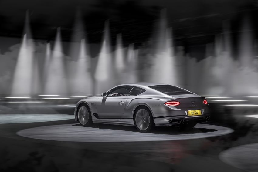 2021 Bentley Continental GT Speed revealed – 659 PS, 0-100 km/h in 3.6 seconds, new rear steering and LSD Image #1267863