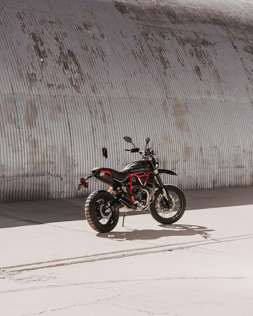 2021 Ducati Scrambler Desert Sled Fasthouse limited edition celebrates Mint 400 Hooligan Class race win Image #1261694