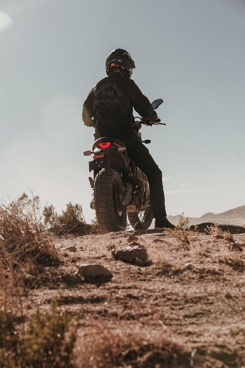 2021 Ducati Scrambler Desert Sled Fasthouse limited edition celebrates Mint 400 Hooligan Class race win Image #1261699