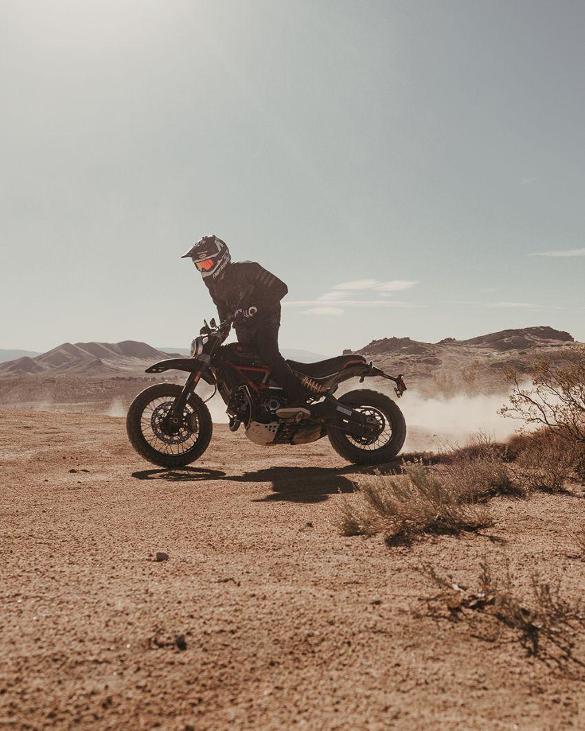 2021 Ducati Scrambler Desert Sled Fasthouse limited edition celebrates Mint 400 Hooligan Class race win Image #1261702