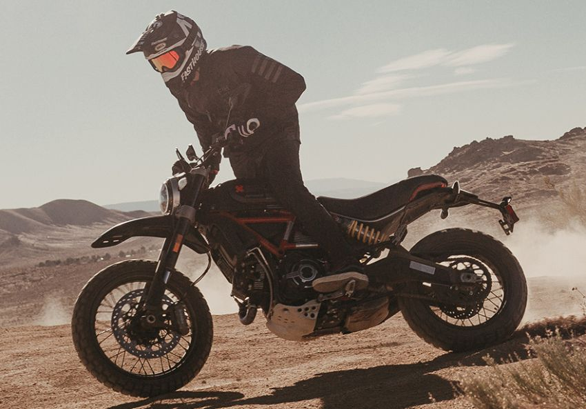 2021 Ducati Scrambler Desert Sled Fasthouse limited edition celebrates Mint 400 Hooligan Class race win Image #1261704