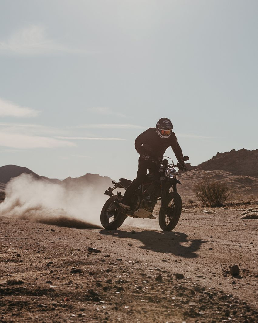 2021 Ducati Scrambler Desert Sled Fasthouse limited edition celebrates Mint 400 Hooligan Class race win Image #1261706