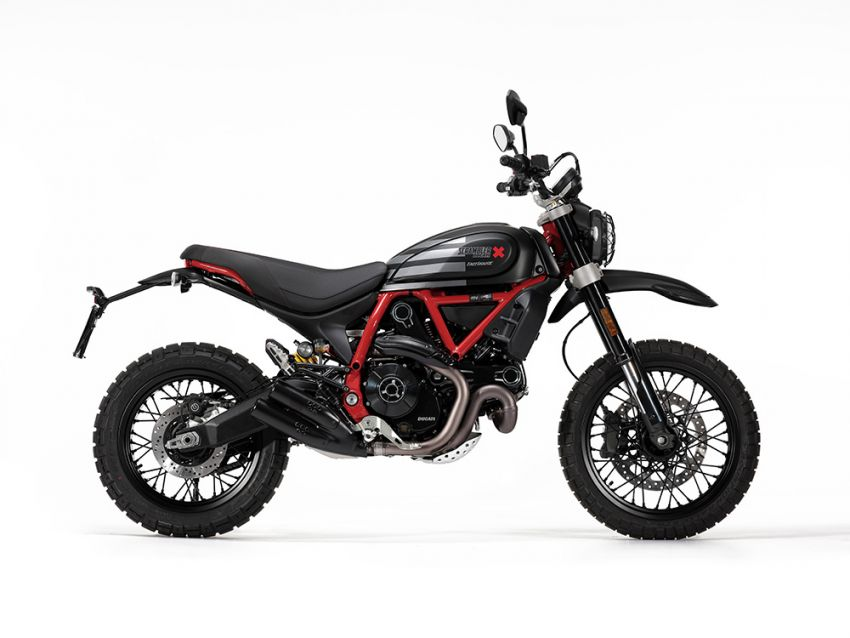 2021 Ducati Scrambler Desert Sled Fasthouse limited edition celebrates Mint 400 Hooligan Class race win Image #1261708