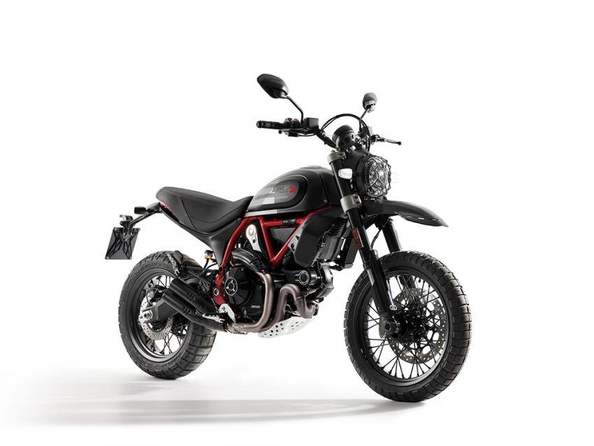 2021 Ducati Scrambler Desert Sled Fasthouse limited edition celebrates Mint 400 Hooligan Class race win Image #1261710