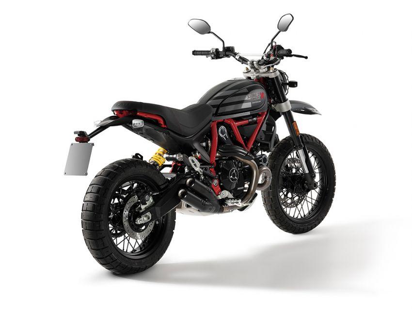2021 Ducati Scrambler Desert Sled Fasthouse limited edition celebrates Mint 400 Hooligan Class race win Image #1261712