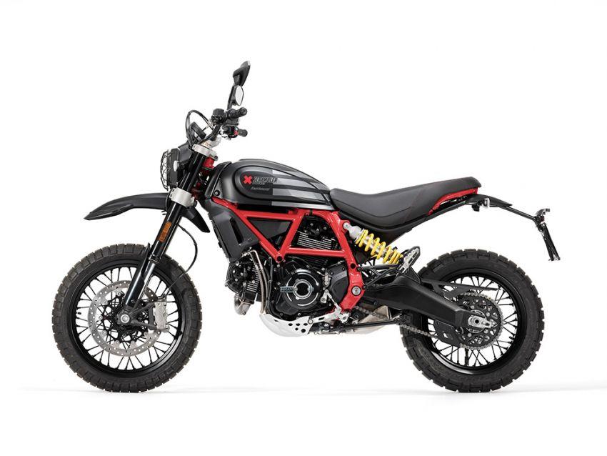 2021 Ducati Scrambler Desert Sled Fasthouse limited edition celebrates Mint 400 Hooligan Class race win Image #1261714