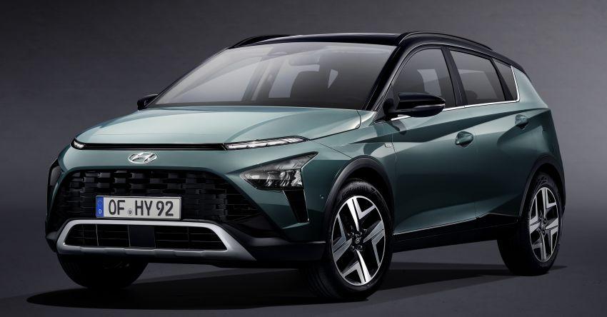 Hyundai Bayon B-segment SUV for Europe – 1.0 litre mild-hybrid T-GDI petrol, SmartSense safety suite Image #1256660
