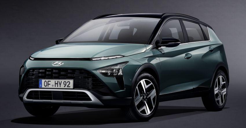 Hyundai Bayon diperkenalkan di Eropah – SUV hibrid ringkas 1.0L T-GDI dengan kuasa sehingga 120 PS Image #1256720