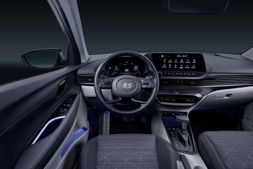 Hyundai Bayon B-segment SUV for Europe – 1.0 litre mild-hybrid T-GDI petrol, SmartSense safety suite Image #1256649