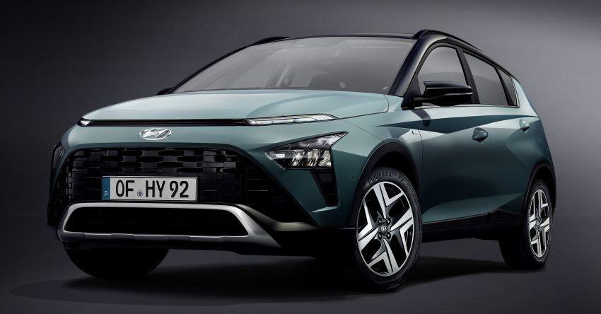 Hyundai Bayon B-segment SUV for Europe – 1.0 litre mild-hybrid T-GDI petrol, SmartSense safety suite Image #1256645