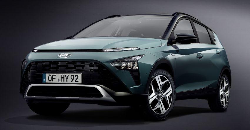 Hyundai Bayon diperkenalkan di Eropah – SUV hibrid ringkas 1.0L T-GDI dengan kuasa sehingga 120 PS Image #1256729