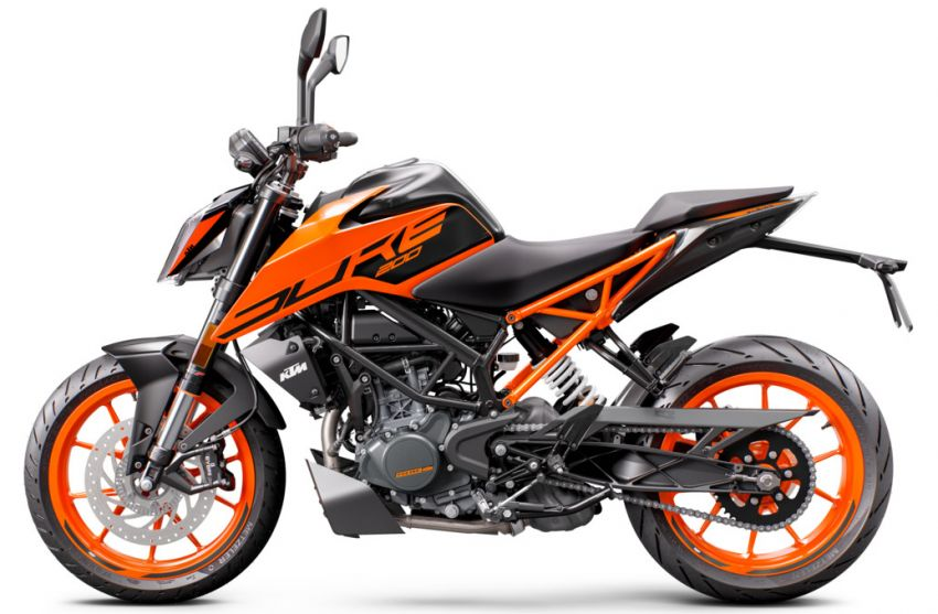 2021 KTM Duke 200 launched in Malaysia, RM12,888 Image #1270780